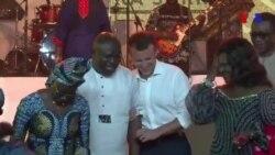 Macron célèbre la créativité africaine au rythme d'Afrobeat (vidéo)