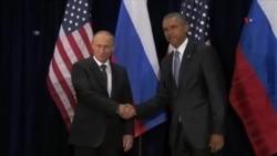 Suriya və Ukrayna: Obama və Putin arasında fikir ayrılıqları