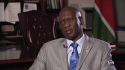 VOA's Mariama Diallo Interviews South Sudan's Ambassador to the US, Garang Diing Akuong