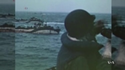 Rare Color Footage of D-Day Invasion