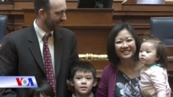 Kathy Trần tuyên thệ nhậm chức dân biểu bang Virginia