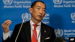 Bác sĩ Takeshi Kasai, giám đốc vùng Tây Thái Bình Dương của Tổ chức Y tế Thế giới (WHO)