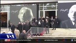 Tiranë: Përcillet me nderime Dritëro Agolli