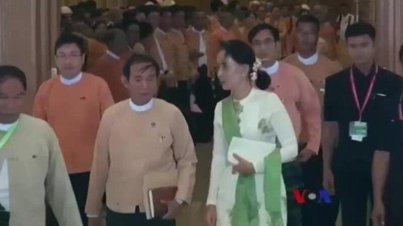 တနှစ်ပြည့် NLD အစိုးရ ဆောင်ရွက်ချက်များ