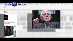 Bà Clinton và ông Sanders tranh cãi về nỗ lực gây quỹ cho đảng (VOA60)