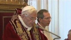 Đức Giáo Hoàng thoái vị, lần đầu tiên trong 600 năm.