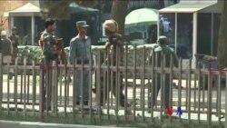 2017-08-29 美國之音視頻新聞: 喀布爾銀行外發生自殺襲擊 5人喪生 (粵語)