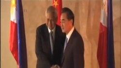 中國外長訪問菲律賓謀求改善雙邊關係
