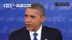 VOA60 Thế Giới 23/10/2012