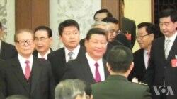 美国之音独家视频 江泽民连续在京露面