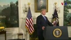 Tramp ABŞ-ın İranla nüvə sazişindən çıxdığını elan edib