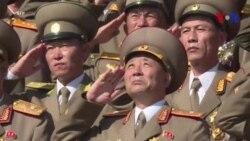 La Corée du Nord tient son défilé militaire sans missiles balistiques intercontinentaux