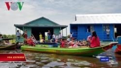 Khánh thành trường nổi trên hồ Tonle Sap cho học sinh gốc Việt