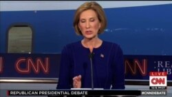 Carly Fiorina brilla en debate