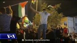Armëpushimi festohet me fishekzjarre nga palestinezët