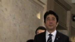 安倍晋三施政演说,誓言捍卫日本主权