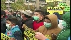 Protestë kundër ndotjes në Tetovë