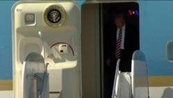 Trump se dirige a las tropas militares por primera vez