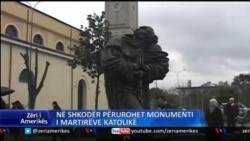 Monumenti i 40 martirëve në Shkodër