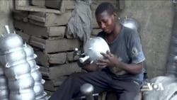 Taskar VOA: Matasan Sun Dukufa Sana'ar Kera Tukwane a Maiduguri