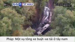 Ít nhất 42 người chết trong tai nạn thảm khốc tại Pháp (VOA60)