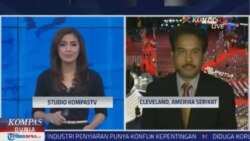 Laporan Langsung VOA untuk Kompas TV: Pidato Melania Trump
