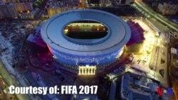 Coupe du monde 2018 : le stade d'Ekaterinbourg (vidéo)