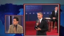 今日看点:奥巴马罗姆尼在第二场总统辩论中激烈交锋