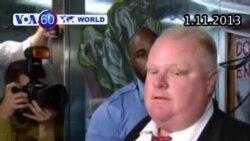 Thị trưởng Toronto bị chỉ trích vì video ông hút cocaine (VOA60)