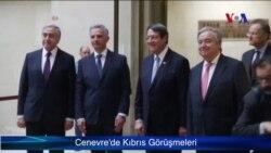Cenevre'de Kıbrıs Görüşmeleri
