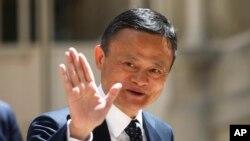 资料照:中国电商巨头阿里巴巴的创始人马云