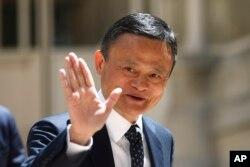 Pendiri grup Alibaba, Jack Ma, di Paris, Perancis, 15 Mei 2019. (Foto: dok).