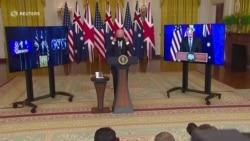 США, Велика Британія та Австралія заявили про укладення домовленості про військову взаємодію в індійсько-тихоокеанському регіоні. Відео