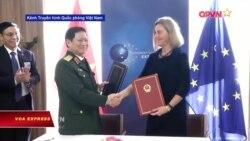 Việt Nam-EU ký thỏa thuận hợp tác quốc phòng