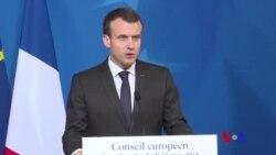 "Macron évoque une probable ""attaque terroriste"" en France (vidéo)"