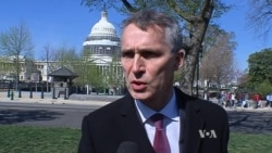 VOA Interview With NATO Secretary General Jens Stoltenberg
