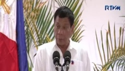 菲總統:向上帝保證不再爆粗口