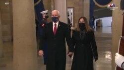ԱՄՆ-ի հեռացող փոխնախագահ Մայք Փենսը մասնակցում է Ջո Բայդենի երդմնակալության արարողությանը