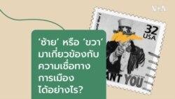 วีโอเออธิบาย: เอียงขวา หรือ เอียงซ้าย เกี่ยวอะไรกับการเมือง?