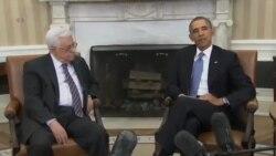 ديدار اوباما با محمود عباس