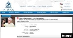 Orden de captura de INTERPOL para Edén Pastora por supuestos crímenes ambientales en Costa Rica.