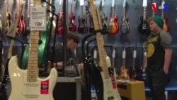 Loja de guitarras de Fairfax