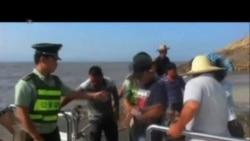 2013-10-06 美國之音視頻新聞: 中國東部沿岸居民因颱風逼近而撤離