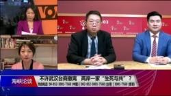 """海峡论谈:不许武汉台商撤离 两岸一家""""生死与共""""?"""