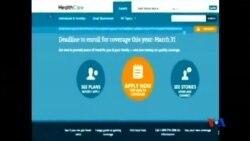 2014-04-02 美國之音視頻新聞: 奧巴馬:七百萬人獲醫療保險