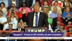 """""""Spygate"""", Trump se dit victime du pire scandale"""