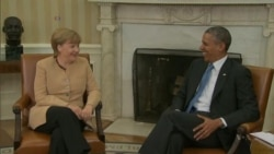 Obama, Merkel to Look for Solution on Ukraine