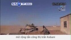 Nhóm IS mở rộng tấn công thị trấn Kobani (VOA60)