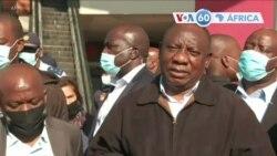 Manchetes africanas 16 Julho: Cyril Ramaphosa alega que incidentes de violência mortal foram planeados e instigados