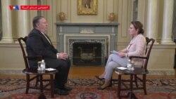 مایک پمپئو: مانند امارات و عربستان، مخالف غنی سازی جمهوری اسلامی ایران هستیم